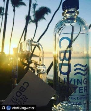 CBD Living Water and it's fellow CBD Living Products