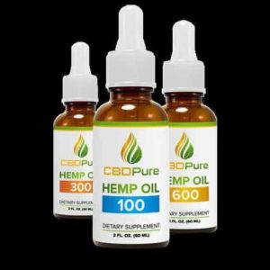 CBD Pure Hemp Oil is Organic